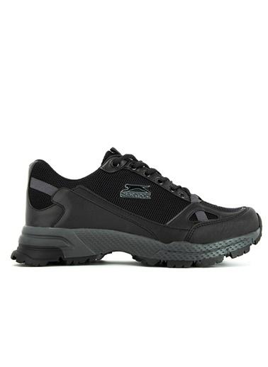 Slazenger Slazenger Adam I Sneaker Kadın Ayakkabı  Siyah